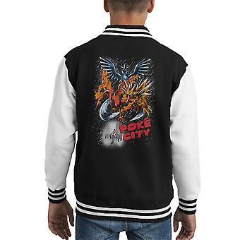 Poke City Pokemon Sin City Kid Varsity Jacket
