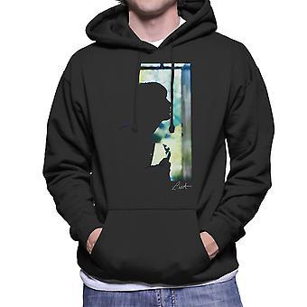 Paul Weller Guitar Silhouette Men's Hooded Sweatshirt