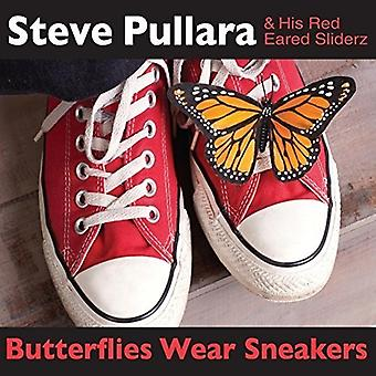 騒がスティーブ ・彼の赤耳 Sliderz - 蝶着用スニーカー [CD] アメリカ インポートします。