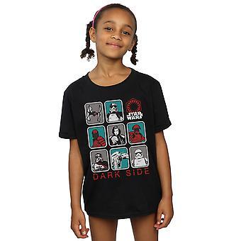 حرب النجوم البنات الظلام جدي آخر الجانب القميص الطابع متعدد