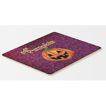 Carolines aarteita SB3017CMT Hei kurpitsa Halloween keittiöön tai kylpy matto 20 x 30