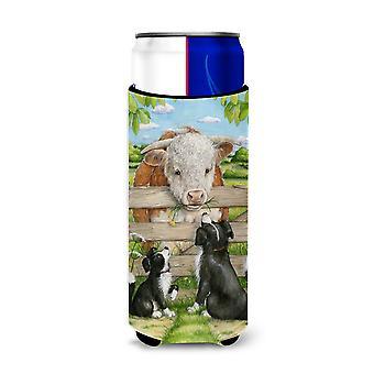 Bull et amis du Pup par Debbie Cook Ultra boisson isolateurs pour canettes slim