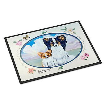 Carolines Treasures  7243JMAT Papillon Indoor or Outdoor Mat 24x36 Doormat
