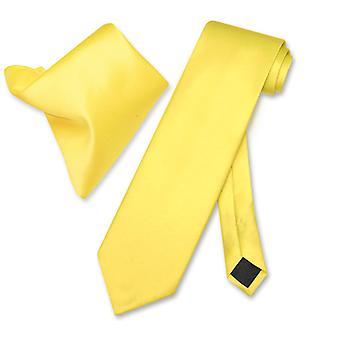 Vesuvio Napoli solide Krawatte Taschentuch Männer Hals Krawatte Set