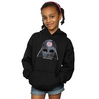 Star Wars Girls Geometric Darth Vader Hoodie