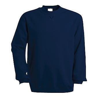 Kariban Mens Plain Crew Neck Sweatshirt
