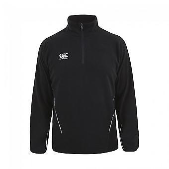 Canterbury equipe Mens Zip pescoço Micro Fleece