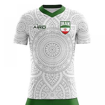 2020-2021 Iran Home Concept Football Shirt (Kids)