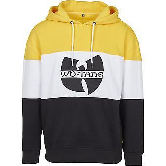 Wu-wear hip hop Hoody - BLOCK COLOR Black / Yellow