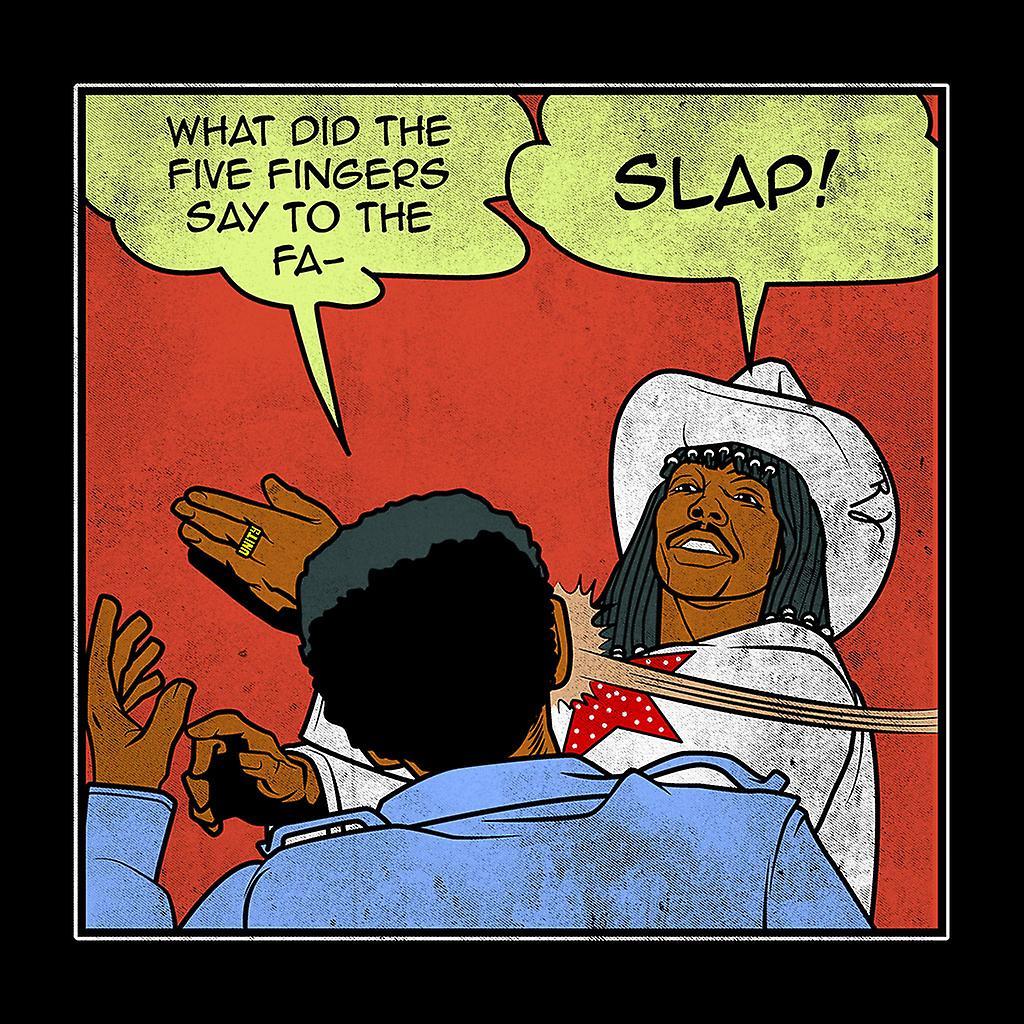 Rick James Comic Style Charlie Murphy Slap Men's T-Shirt ...Rick James Slaps Charlie Murphy