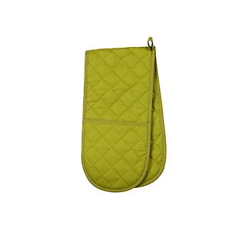 Love Colour Double Oven Glove, Greenery
