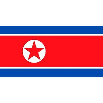 North Korea Flag 5ft x 3ft With Eyelets For Hanging