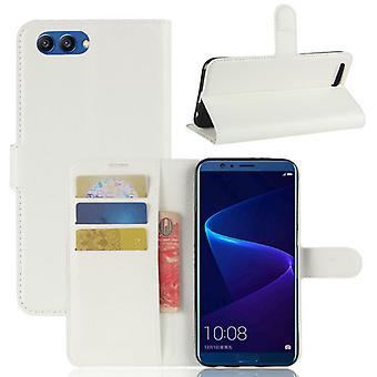 Pocket tegnebog premium hvid for Huawei honor Se 10 / V10 beskyttelse ærme tilfælde dække pose nye