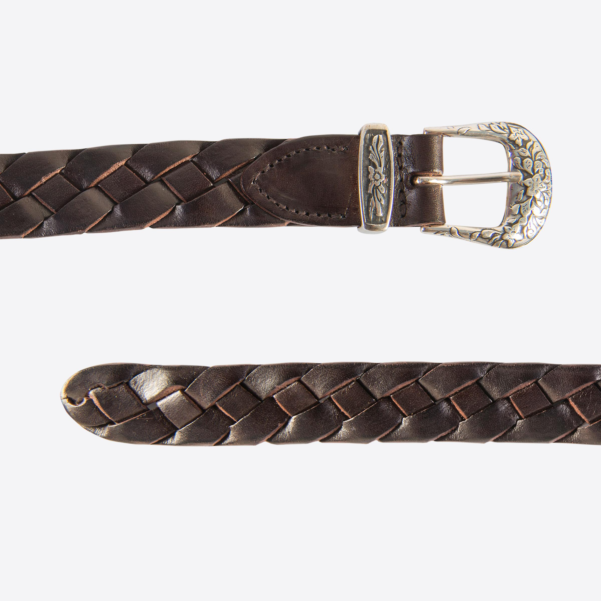 Fabio Giovanni Casone Belt - High Quality Woven Leather Belt