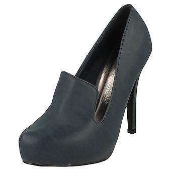 Ladies Anne Michelle Platform Court Shoe L2253