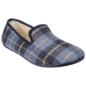 Cotswold Mens Wallis Slip On Slipper Blue