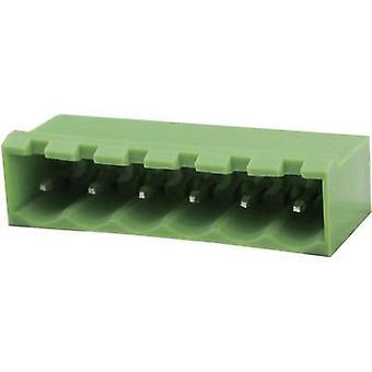 Degson Socket kotelo - PCB kokonaismäärä nastat 10 yhteyttä välistys: 5,08 mm 2EDGVC-5.08-10P-14-00AH 1 PCs()