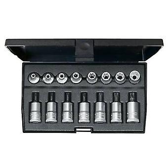 Gedore 1509942 TORX socket, TORX Bit set 15-piece 3/8 (10 mm)