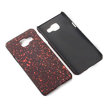 Matkapuhelin kansi tapauksessa puskurin kuori Samsung Galaxy A3 2016 3D tähteä punainen