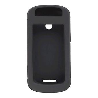 حزمة 5-الأسود سيليكون جل القضية لسحق موتورولا W835