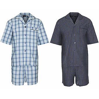2 パック メンズ チャンピオン高級ポリコットン ショート パジャマ ラウンジ着るパジャマ