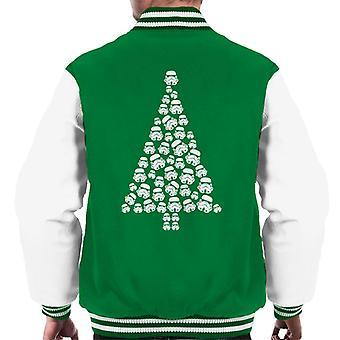 Original Stormtrooper Trooper Christmas Tree Men's Varsity Jacket