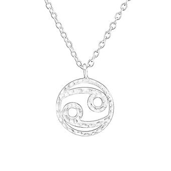 Zodiac Cancer - 925 Sterling Silver Plain Necklaces - W36717x
