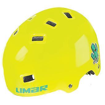 Limar 306 children / youth bike helmet / / yellow cactus