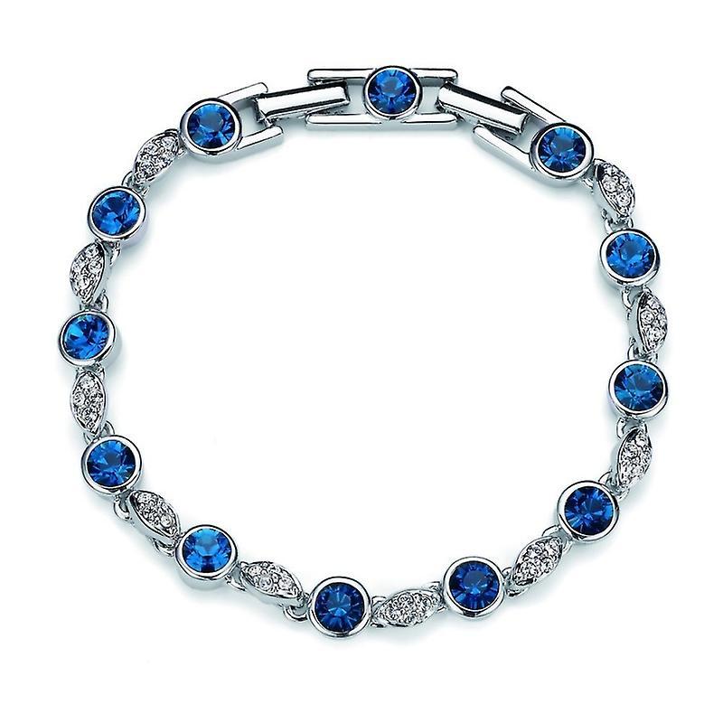 Oliver Weber Bracelet Between Rhodium Crystal