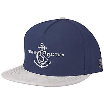 Navy Cayler & sons Snapback Cap - tradition