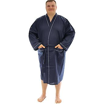 Espionage Plain Traditional Dressing Gown