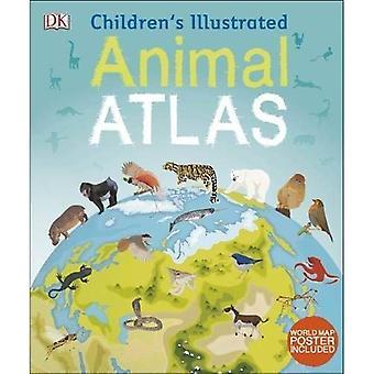Barnens illustrerad djurens Atlas