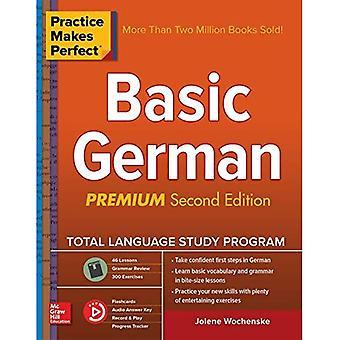 Oefening baart kunst: Fundamentele Duits, tweede editie