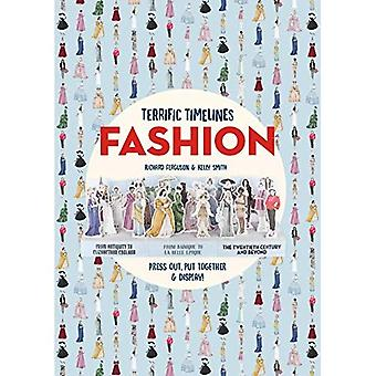 Terrific Timelines: Fashion:� Press Out, Put Together &� Display!