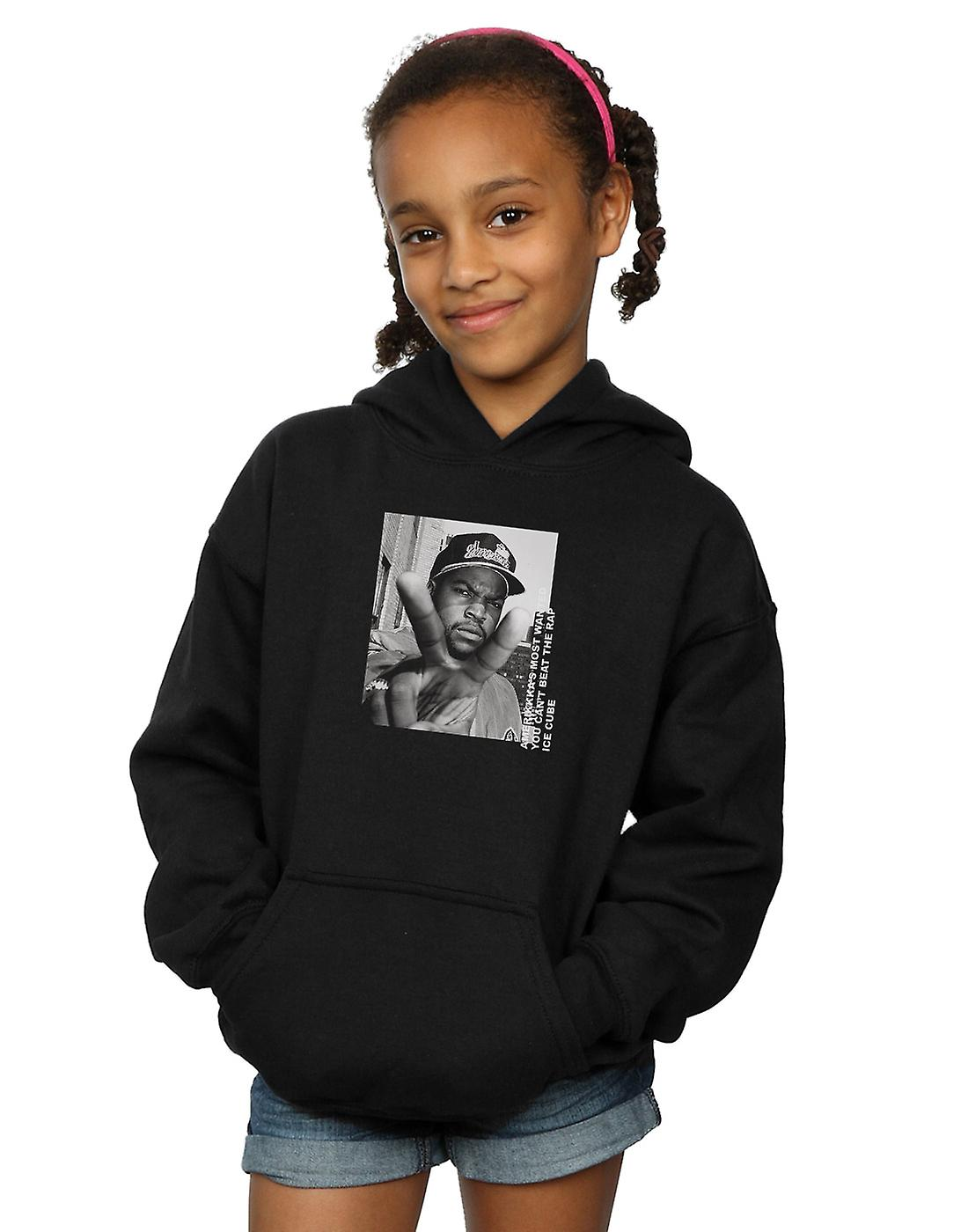 Ice Cube Girls Peace Sign Hoodie