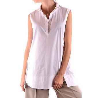 Fabiana Filippi Ezbc055038 Camisa de Algodão Branco Feminino'