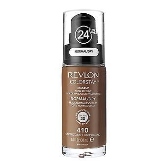 Revlon Colorstay Foundation pour les peaux normales/sèches, Cappuccino #410