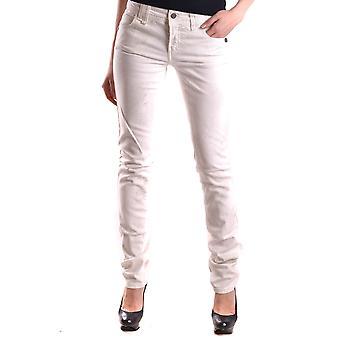 John Galliano Ezbc164031 Women's White Denim Jeans