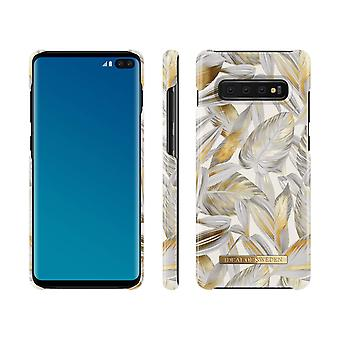 iDeal Of Sweden Samsung Galaxy S10 +-Platinum Leaves