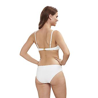 Féraud 3195072-11697 Women's Beach Ivory White Swimwear Beachwear Bikini Set