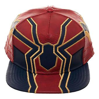Avengers Infinity War Iron Spider Suit Up Snapback Cap - One Size