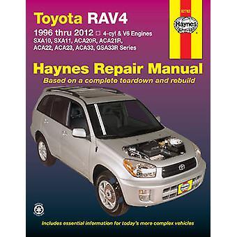 Toyota RAV4 Automotive Repair Manual - 9781620921043 Book