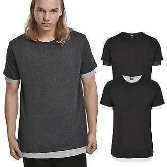 Urban Classics-täysi kaksinkertainen kerros paita