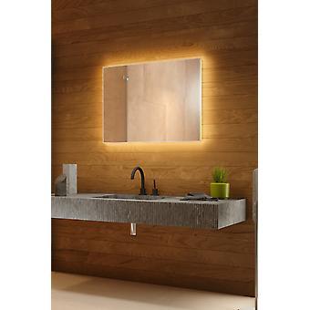 Domino bakgrunnsbelyst speil med sensor, demister, barbermaskin socket k708BL