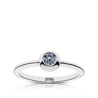 Chicago Cubs Sapphire ring in Sterling Zilver ontwerp door BIXLER