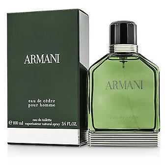 ジョルジオ ・ アルマーニ アルマーニ オー デ Cedre オードトワレ スプレー - 100 ml/3.4 オンス