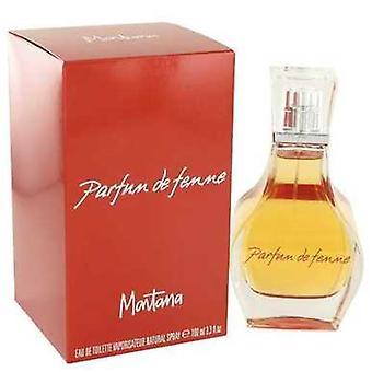 Montana Parfum de Femme av Montana Eau de Toilette Spray 3,3 oz (kvinnor) V728-460889