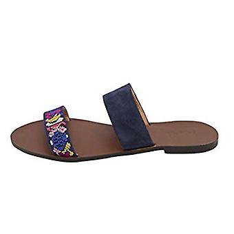 Joule Womens Fenthorpe öppen tå Casual Slide sandaler