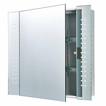 Specchi da bagno luminosi illuminati argento, vetro specchiato IP44