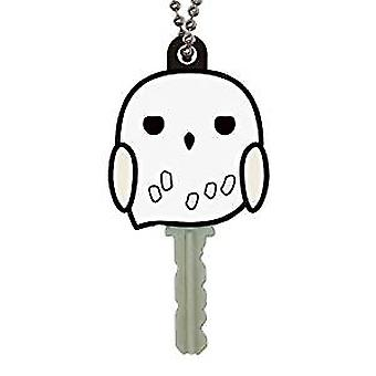 Key cap-Harry Potter-Hedwig myk touch PVC nøkkel holder nye 48414